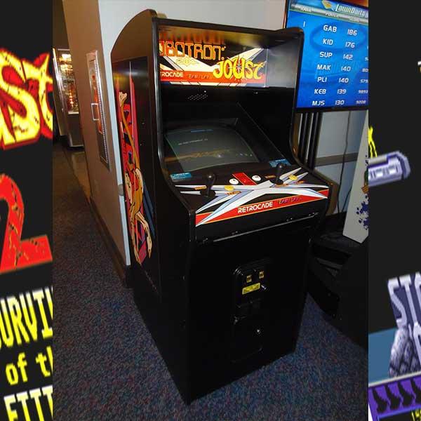 RoboTron Joust Retro Arcade Game