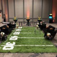 Football Turf Carpet for Tailgating Theme